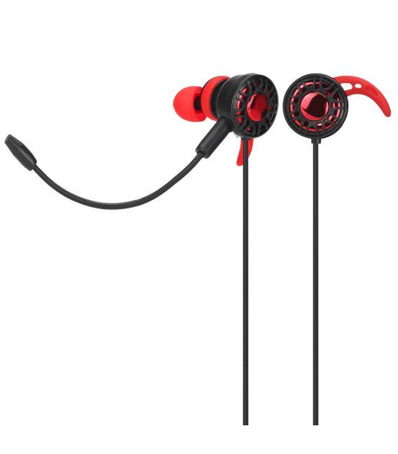 Écouteurs Stéréo Gaming, Xtrike GE-109 avec Microphone