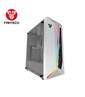 Boîtier Tour de FANTECH CG71 Blanc avec RGB et support ATX/ITX/Micro ATX