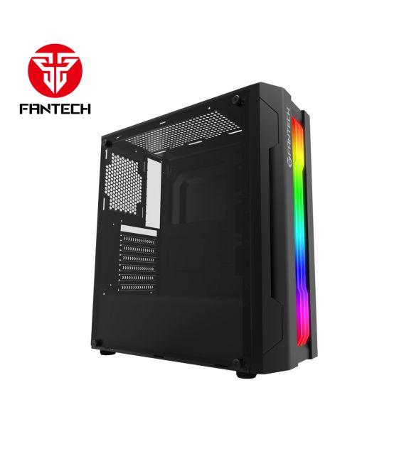 Boîtier Tour de FANTECH  CG72 Noir avec RGB