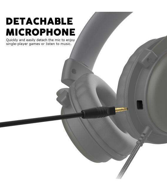 Casque Gamer FANTECH MH82 avec Microphone pour Multi Platforms PC/Mobile/PS4