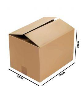 Boite Carton Ondule - Double Canal 29x23x54 cm