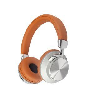Casque Stéréo 98BT sans fil Bluetooth avec l'option Réduction de Bruit, Marron