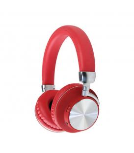 Casque Stéréo 98BT sans fil Bluetooth avec l'option Réduction de Bruit, Rouge