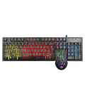 Gombo Gaming Marvo KM409 avec Souris et Clavier Gaming