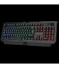 Clavier Gamer XTRIKE KB-507 Membrane, Rétro-éclairé, avec 104 Touches