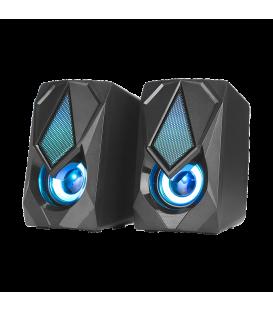 Haut-parleurs Gamer XTRIKE SK-402 Stéréo Rétro-éclairé