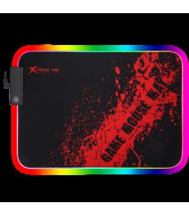 Tapis de Souris Gamer XTRIKE MP-602 avec LED RGB - Taille 350x250x 3mm