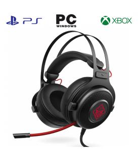 Casque Gamer HP H800 filaire avec Microphone et Réducteur de Bruit, Compatible PC / PS4 /Xbox One