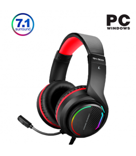 Micro-Casque Gamer XTRIKE GH-903 7.1 USB Surround avec Microphone Omnidirectionnel