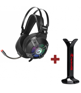 Pack Casque Gamer Marvo HG9015G et Support de Casque Gaming MARVO HZ-03