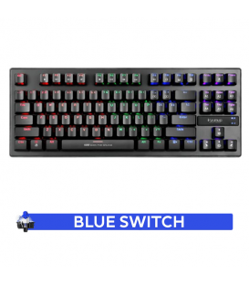 Clavier Mécanique Blue Switch Gamer MARVO KG901 Rétro-éclairage RGB
