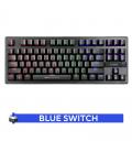 Clavier Mécanique Blue Switch Gamer MARVO KG901 Rétro-éclairage RGB