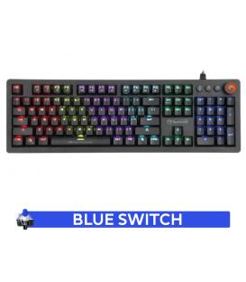 Clavier Gamer MARVO KG917 Mécanique Blue Switch avec Rétro-éclairage RGB