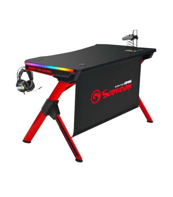 Table Gaming MARVO DE-04 Avec 7 Couleurs Respirantes RGB