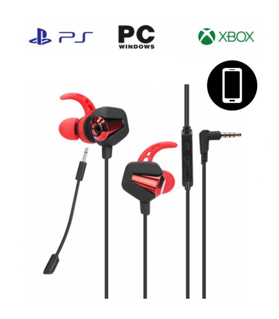 Écouteur Gaming MARVO GP-002 Surround stéréo avec Microphone Détachable