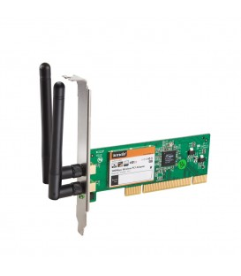 Tenda W322P+ Carte Wi-Fi PCI 300Mbps 2 Antennes Détachables