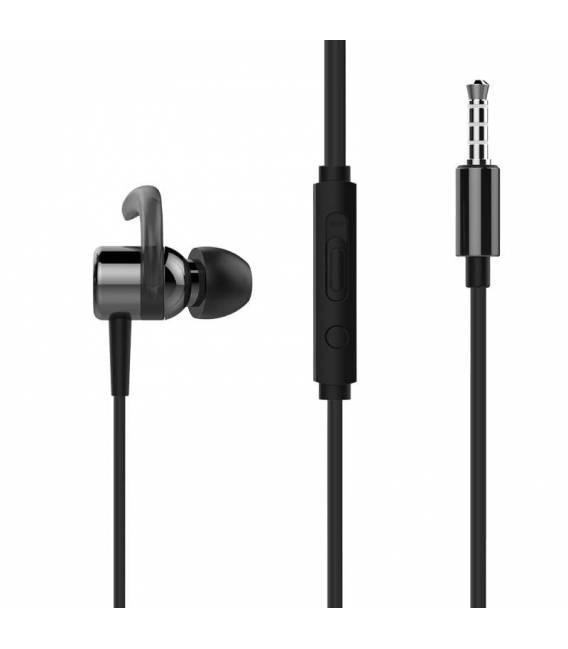 Ecouteurs Filaire HP DHH-3114 avec Microphone pour PC et Mobile (Noir)