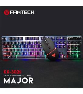 Combo Fantech KX-302 avec Souris et clavier Filaire Gaming