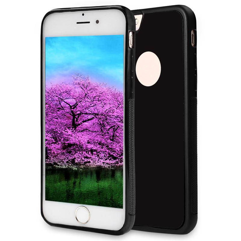 achetez coque de protection anti rayures en silicone pour iphone 6 plus noir au meilleur prix. Black Bedroom Furniture Sets. Home Design Ideas