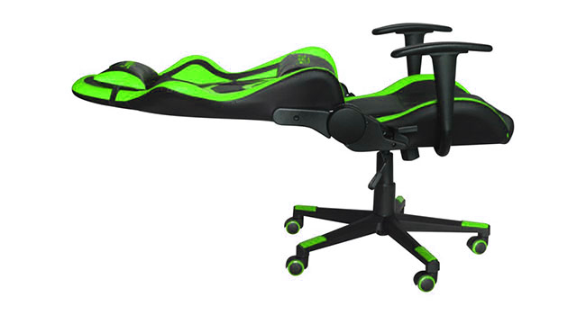 Chaise de bureau Marvo CH-106 Inclinable 180˚ (vert)