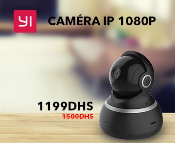 Caméra de surveillance Yi Dome Camera 1080p