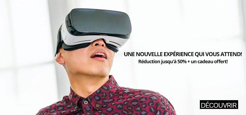 Casque VR + cadeau offert!