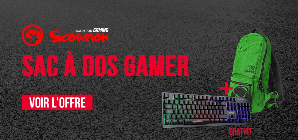 Clavier Gamer Waterproof GRATUIT !