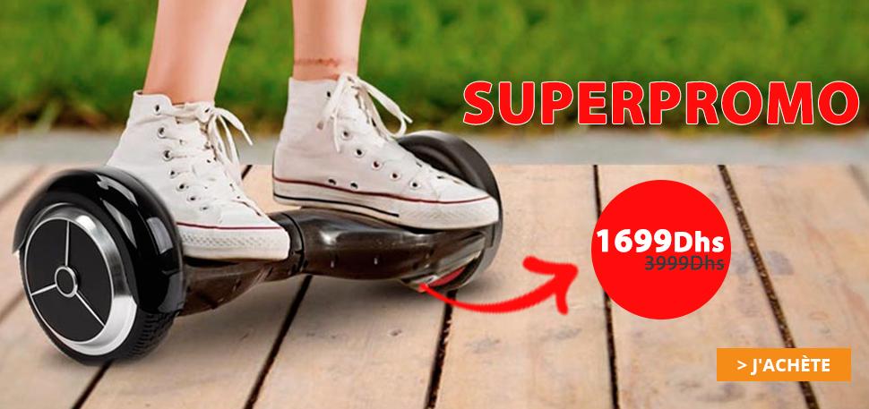 Hoverboard à partir de 1990Dhs